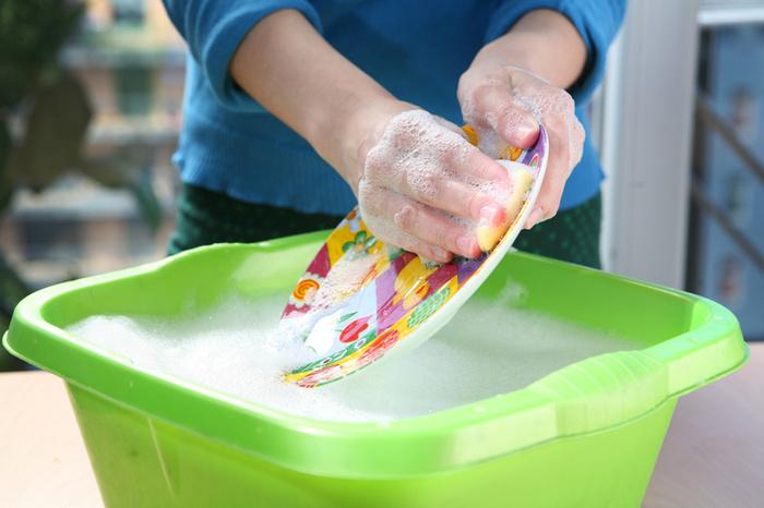 elde bulaşık yıkama